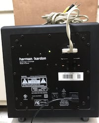HARMAN KARDON H/K595 HK 595 Replacement SUBWOOFER UNIT ONLY  plus input cable as shown in the pictures  Mc Lean, 22101