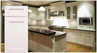 white shaker kitchen cabinets 10x10 set Frederick