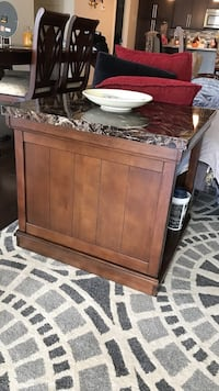 Side table solid wood table Charlotte, 28202