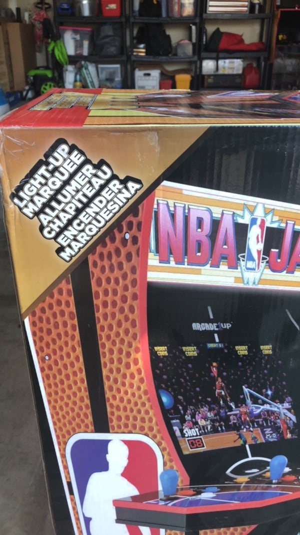 Arcade1Up (NBA JAM) 84b3833b-d43e-4960-8757-0d4b5ff850fc