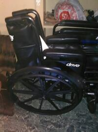 1new (drive) wheelchair 1folding pushchair