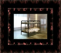 Twin bunkbed frame with mattress Rockville, 20847