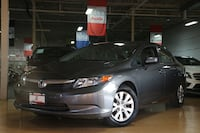 2012 Honda Civic - 91,000km | certified  Vaughan