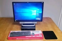 """HP computer w/ 22""""monitor combo package Springfield"""