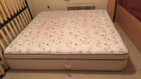 Clean and good condition king size  mattress Toronto, M4A 1A5