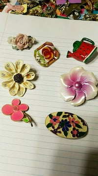 Floral pins bundle  Mount Airy, 21771