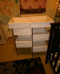 Vintage wicker changing table Ellensburg, 98926