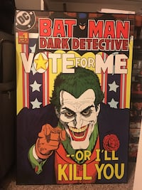 Large wood Joker poster  Midland