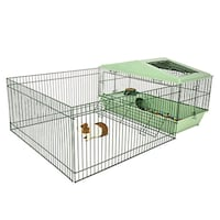 Guinea Pig Cage With Playpen Muskegon, 49441