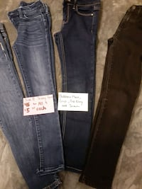 little girl size 8 skinny jeans  Gautier, 39553