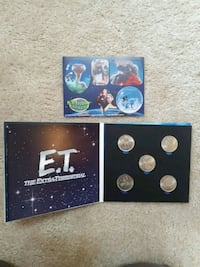 E.T Collectable coin set from Royal Canadian mint  Hamilton, L8J 1N9