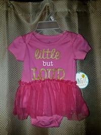 NEW w/tags sz. 3 mo.Baby girl outfit Indianapolis, 46221