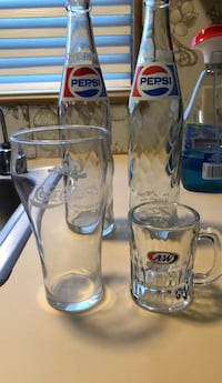 Vintage. Glass.  all of. 3  San Leandro, 94579