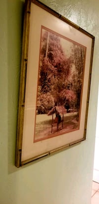 Bamboo frame Picture