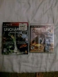 three assorted PS3 game cases Cottonwood, 96022