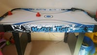 white and blue air hockey table London, N6J 3C6
