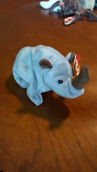 Retired! Ty Beanie Babies - Spike the Rhino! Rockville, 20850