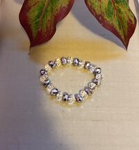 Silver and clear crystal bracelet  San Antonio, 78238