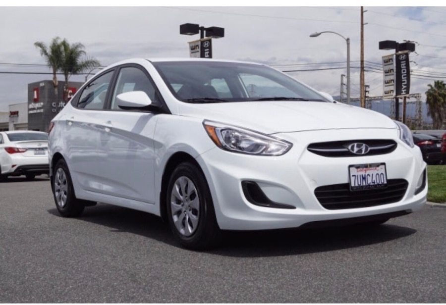used 2016 hyundai accent se sedan in carson. Black Bedroom Furniture Sets. Home Design Ideas
