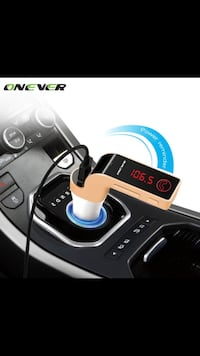New never used Onever 4 in 1 Wireless Hands Free Bluetooth FM Transmitter Modulator Car Kit MP3 Player SD USB LCD Car Music Player G7 + AUX  www.aasoca.com MAKE YOUR OFFER  Please CHECK My STORESony,android,iPhone,galaxy Nokia Samsung galaxy  note, HTC, M San Juan Capistrano, 92675