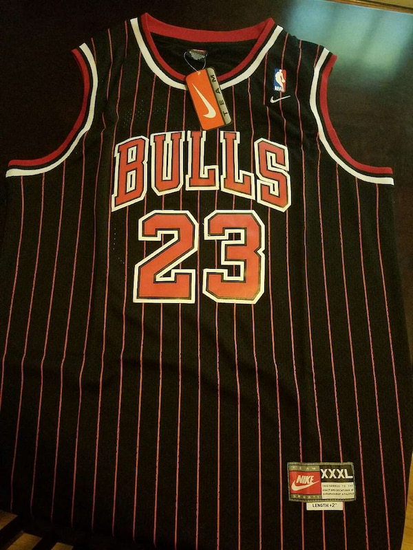 sports shoes 7f485 af001 Used chicago bulls nike nba michael jordan 23 jersey for ...