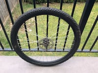 black and yellow bicycle wheel Delta, V4C 5W4