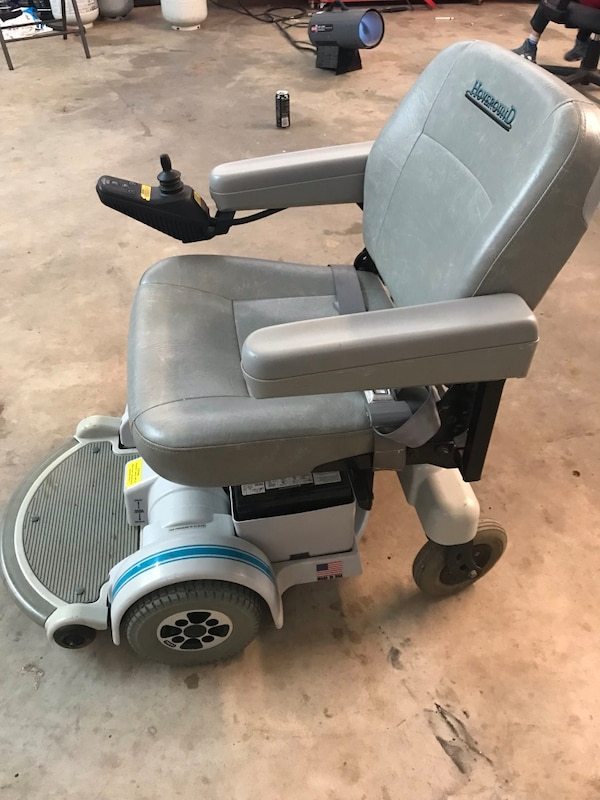 Used Hoveround Mpv5 Electric Wheelchair Scooter Gray And Blue Great Condition For In Oklahoma City Letgo