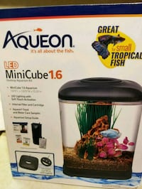 AQUEON LED MINI CUBE 1.6 GALLON AQUARIUM Monrovia, 21770