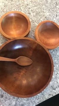 Vintage Baribocraft Salad bowl set for 4.