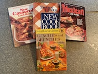 Set of 4 Better Homes & Garden cookbooks. Great condition. $5 for all.
