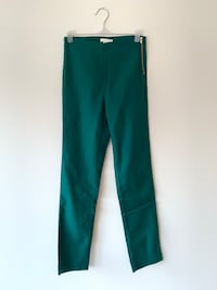 Green slim fit trousers Stockholm, 124 73