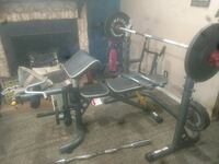 Golds gym xrs 20 bench and everything in picture Arcadia, 34266