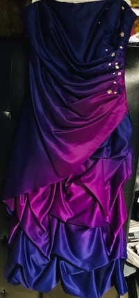 Prom or bridal dresses $50.00 a piece. Purple 24w, turquoise xl, black 12, pink 5 tall Glen Burnie, 21061