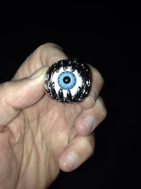 Blue Eye Claw Ring Men Size 10 Arlington, 22203