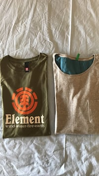 ELEMENT Size M & BENETTON size L Kalamakion, 17455