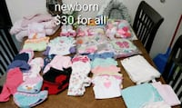 baby's assorted-color clothes lot Fort Riley, 66442