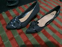 pair of black leather loafers Akron, 44305