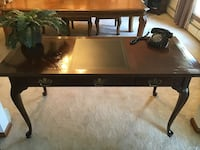 National Mt. Airy Cherry Chippendale Desk