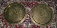 Vintage  Chinese Brass Tables/Trays Norfolk, 23503