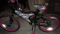 Black and pink bmx bike Bolton, L7E 1C8