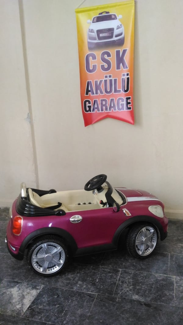 Akülü Araba Mini Cooper 8888 7