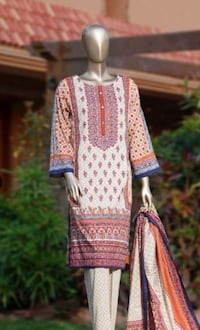 3 piece embroidered lawn suits  Bradford West Gwillimbury, L3Z 0B4