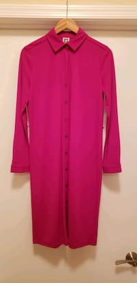 Anne Klein fuchsia dress (size L) - never worn Bethesda