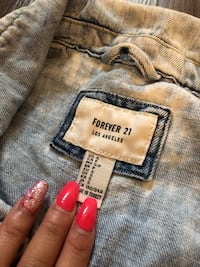 jean Jacket forever 21 Happy Valley