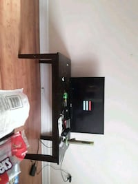 black wooden TV stand with mount Dartmouth, B2X 1M4