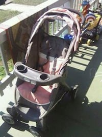 Pink canopy baby stroller New Providence, 17560