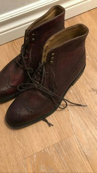 brown leather lace-up boots Gatineau, J8Y 4C6