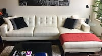 Ivory Sectional Arlington, 22204