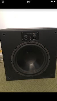Sonance sun of a sub - 10 inch powered subwoofer 75 Watts built in amp