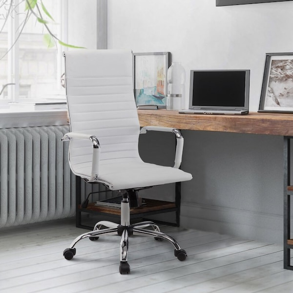 *(Still Available)*- Alessandro Conference Chair- White b2e905dd-d701-4fb2-a500-e5f40b5e5c8a